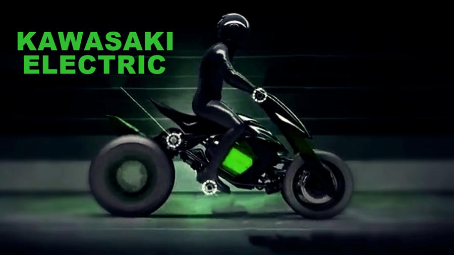 2020 Kawasaki Electric street fighter