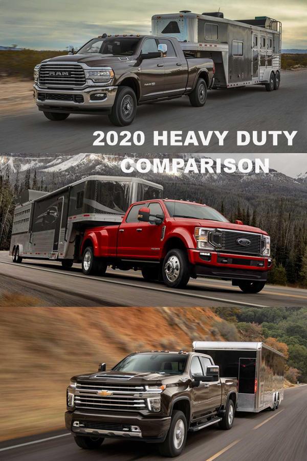Ford, RAM, Chevy Heavy Duty