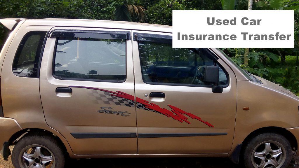 Insurance transfer used cars