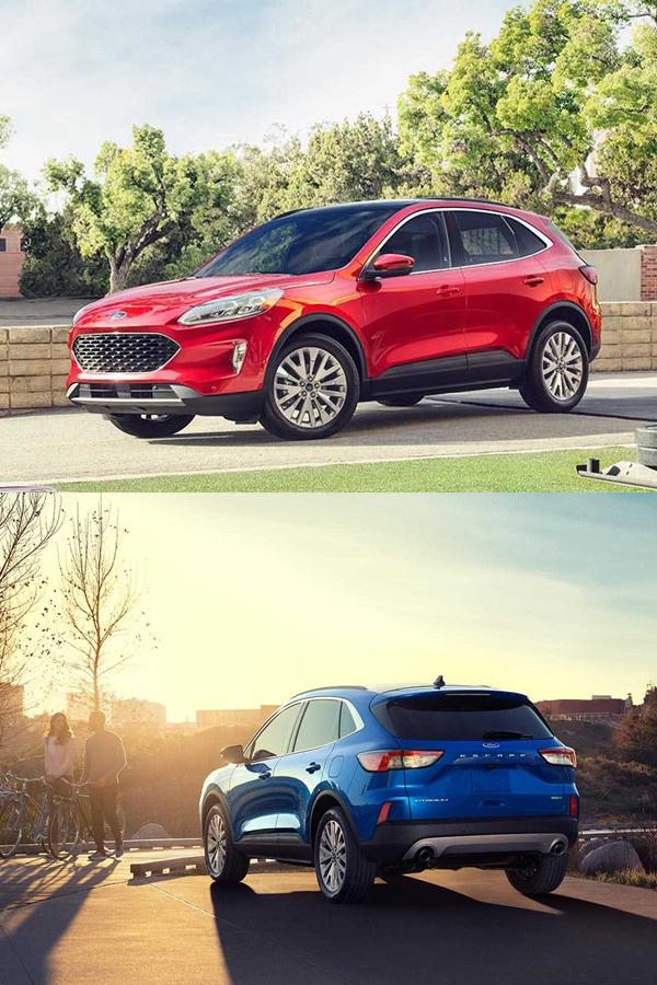 New Ford Escape Crossover - Kuga
