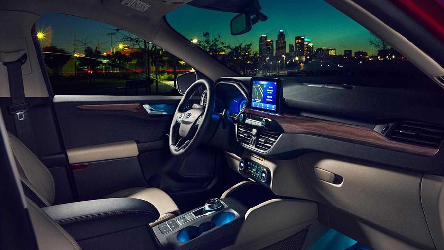 New Ford Escape interior light