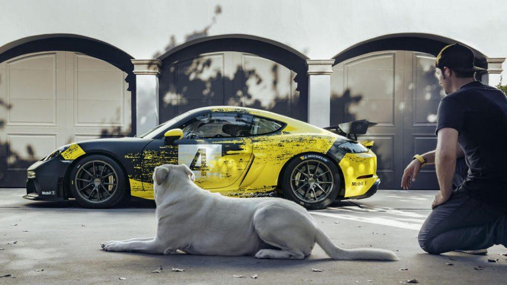 Porsche 718 Cayman GT4 Clubsport Track