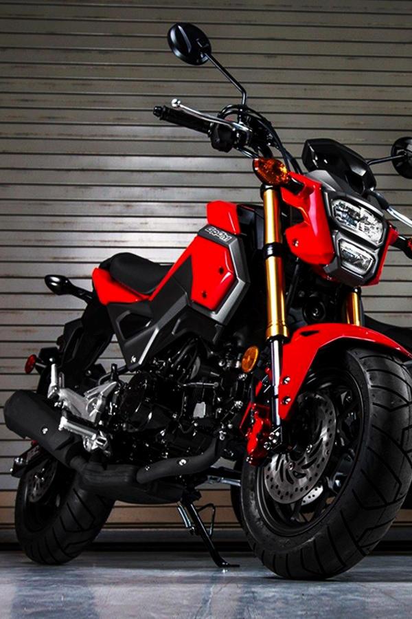 Honda Grom 2019 red