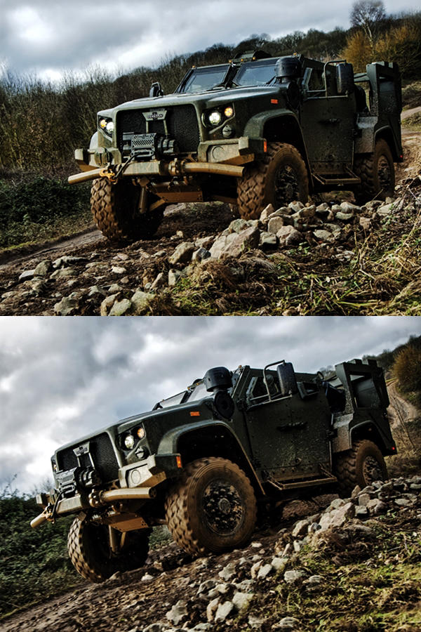 Humvee replacement Oshkosh Defence JLTV
