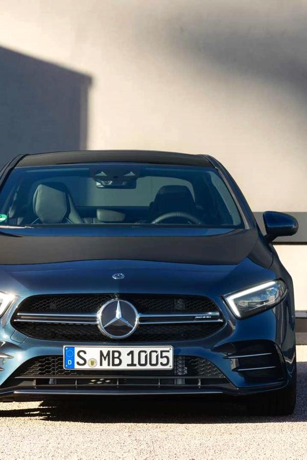 New Mercedes A35 AMG Sedan