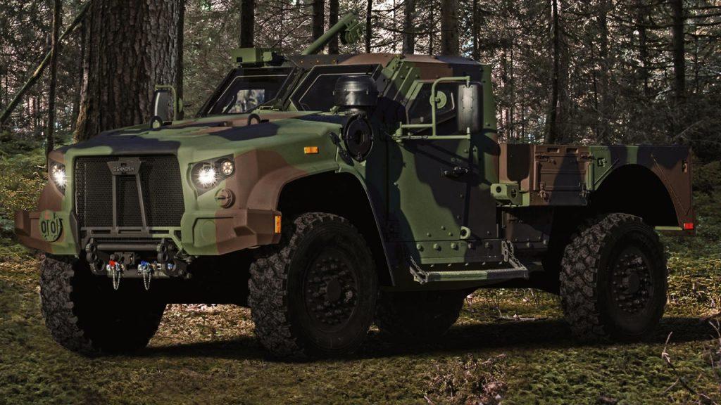 Oshkosh Defence JLTV Forest Camo US Army SUV