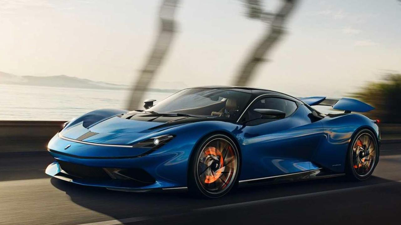Pininfarina Battista blue