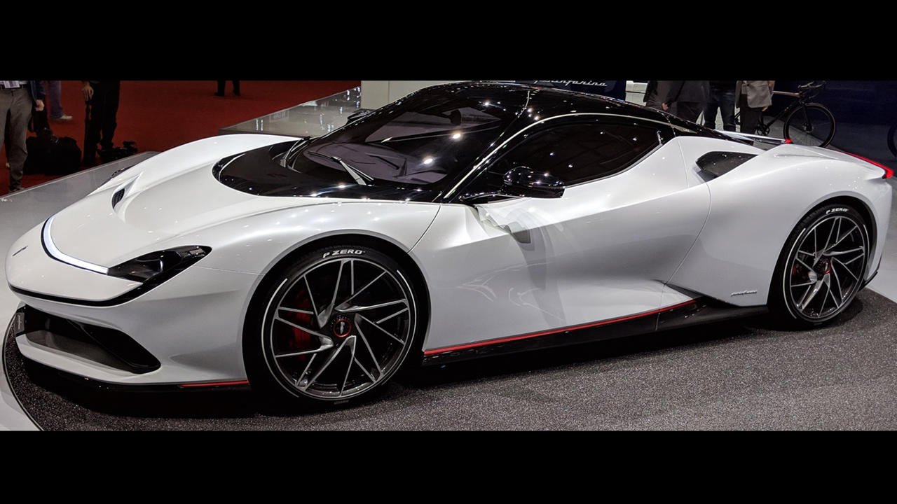 Pininfarina Battista white
