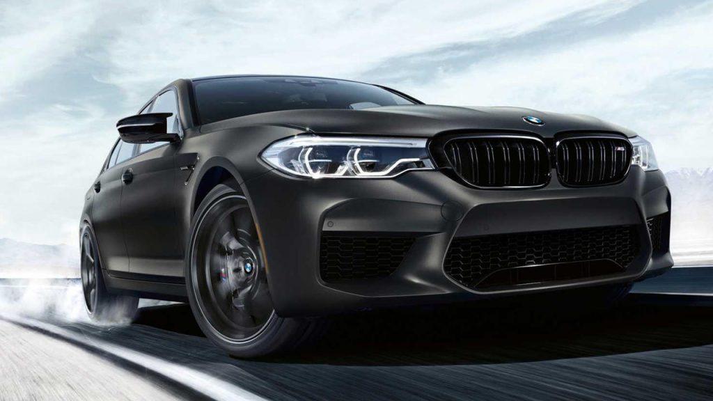 Grey sportscar BMW