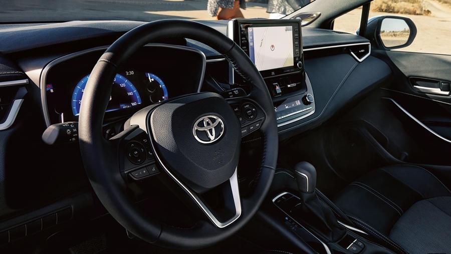 Corolla Hatchback interior