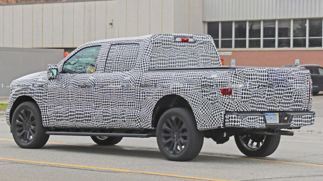 Next generation Ford F150 2021