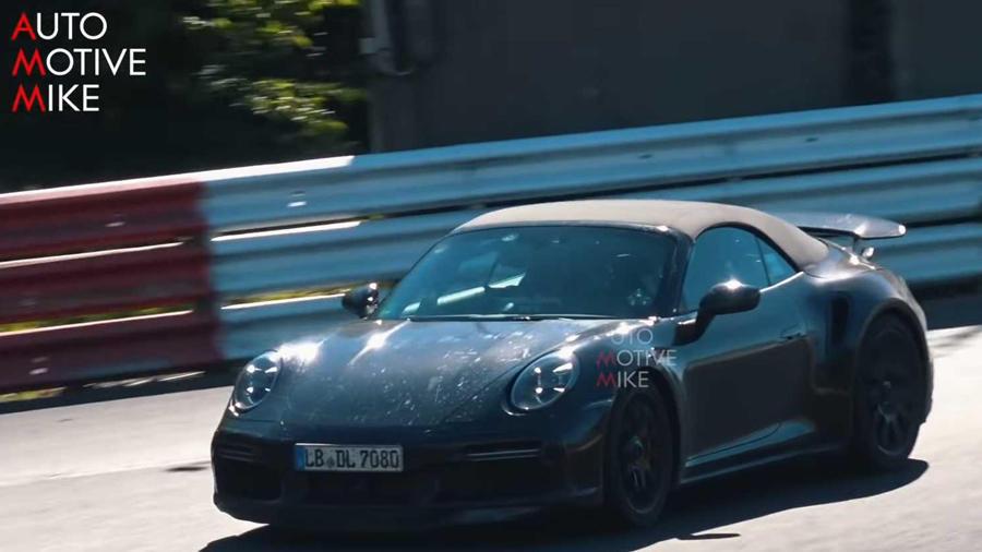 Porsche Convertible sportscar