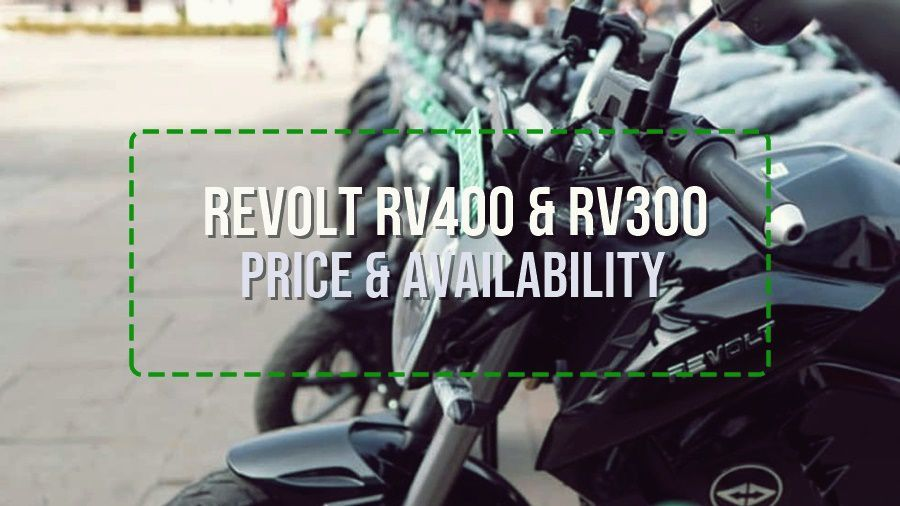 Revolt RV400 & RV300: All-included pricing strategy | More cities to be added