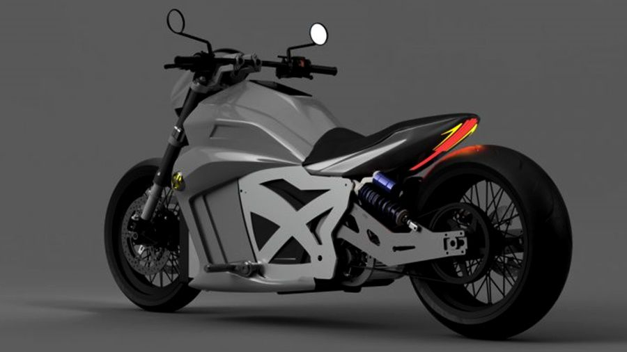 electric cruiser motorcycle