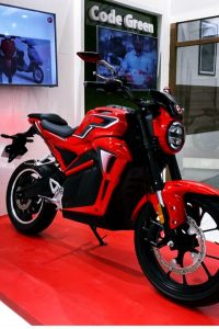 Headlight of hero electric bike