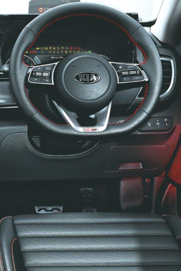 Steering wheel selto