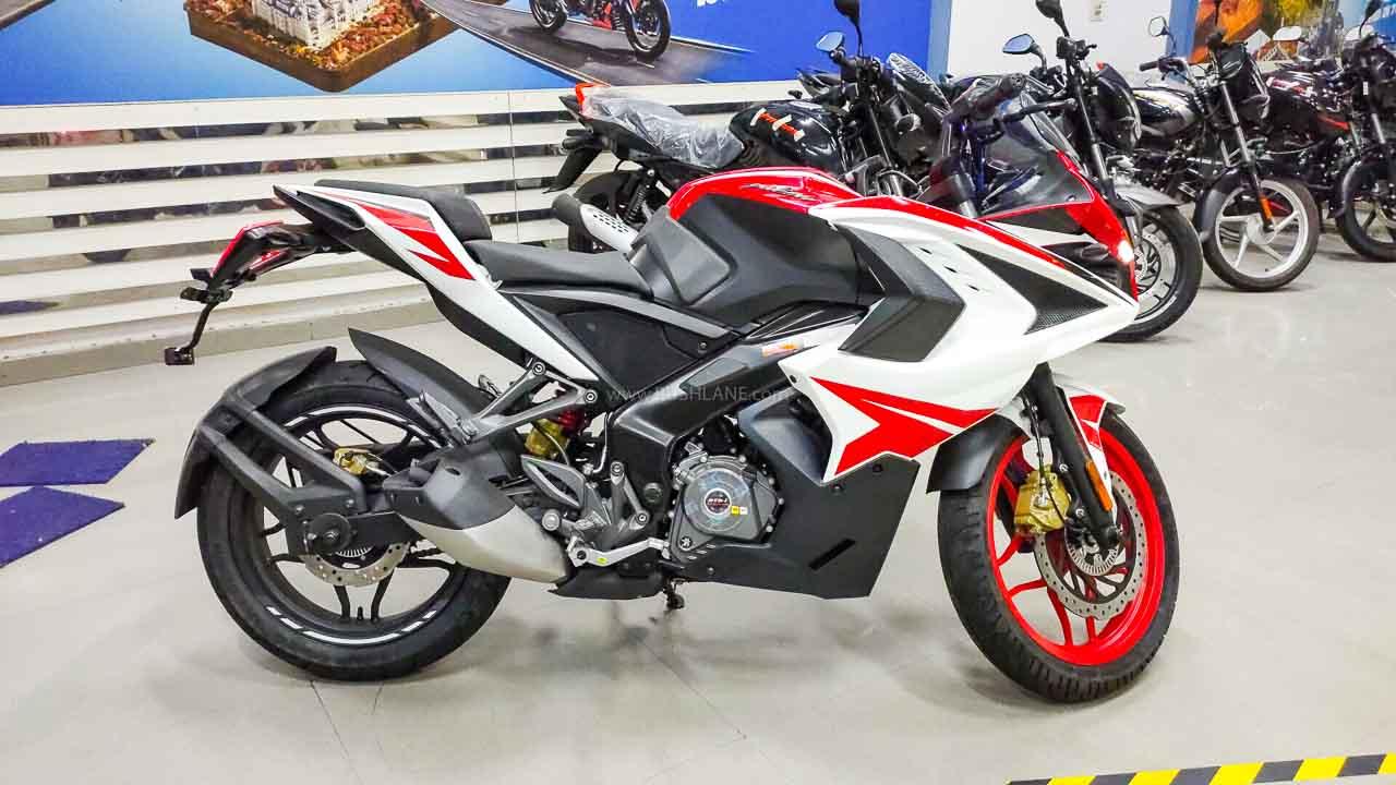 Kawasaki rouser rs200 simple modification - YouTube