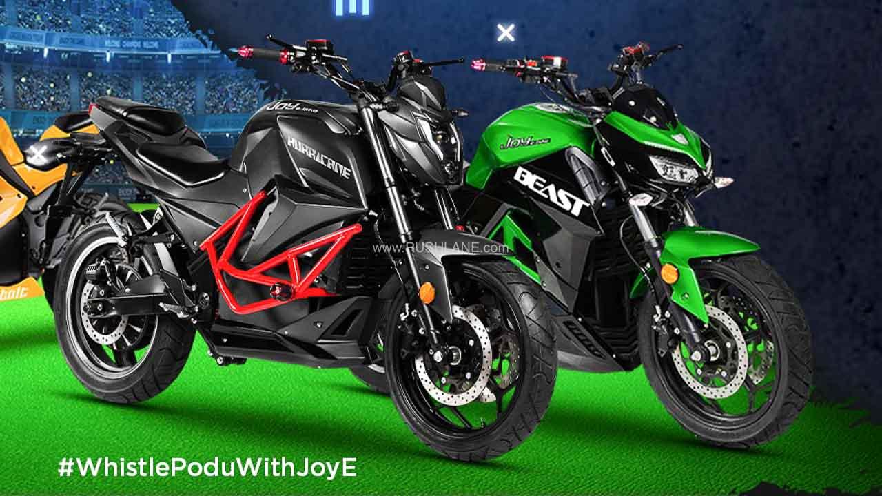 Joy E Bikes Launches 4 Electric Motorcycles - New EV Plant