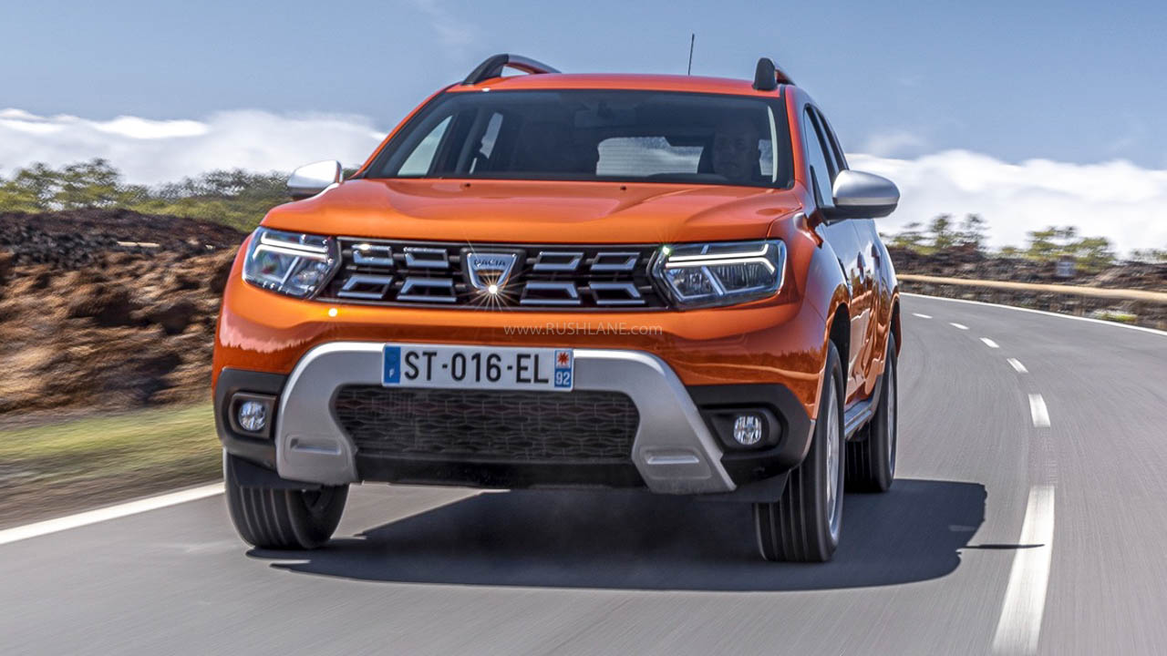 2022 Renault Duster Facelift Debuts With New Tech, Colours